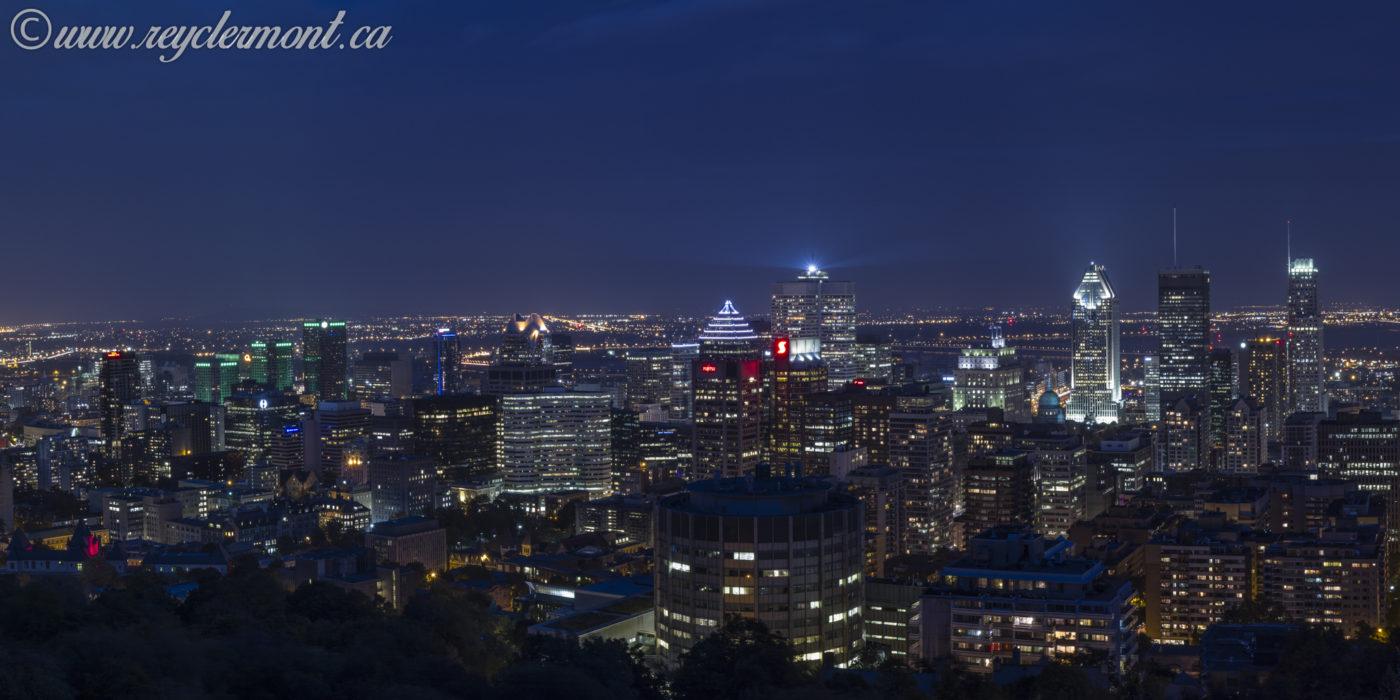 Montréal à l'heure bleue