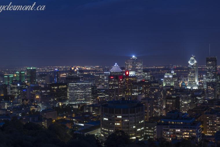 Montréal la nuit - 20 septembre 2014