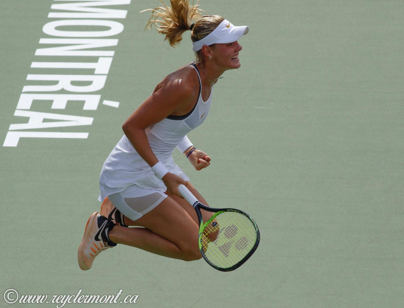 Sofya Zhuk, WTA, Coupe Rogers 2018, Montréal