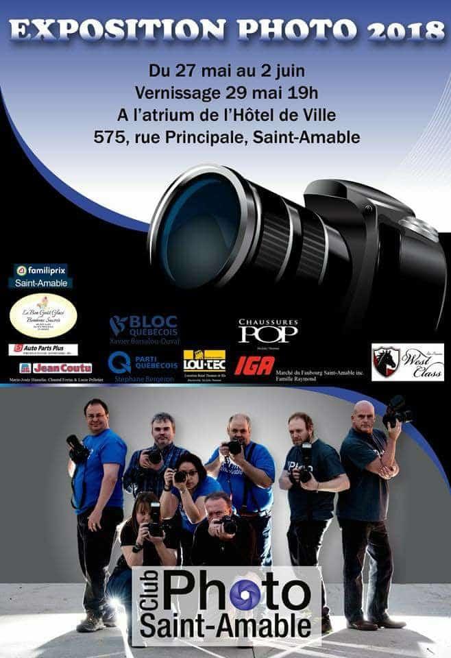 Exposition au Club Photo de St-Amable